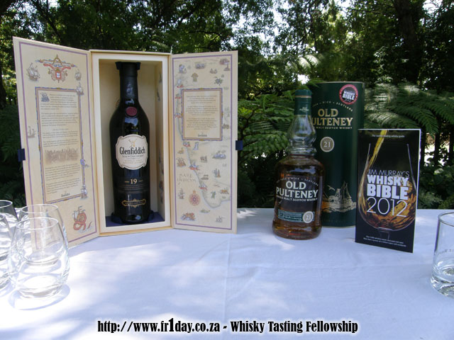Glenfiddich Age of Discovery and Old Pultney 21