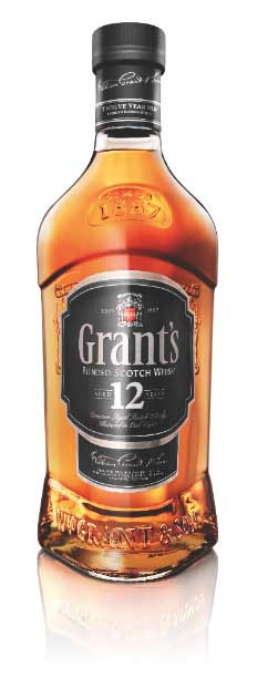 Grant's 12 Year Old Bottle