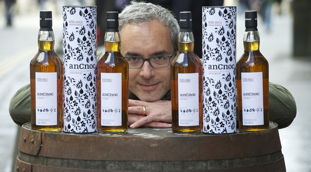 Peter Arkle and his anCnoc Whisky