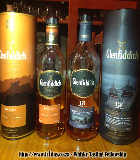 New Glenfiddich whiskies in South Africa