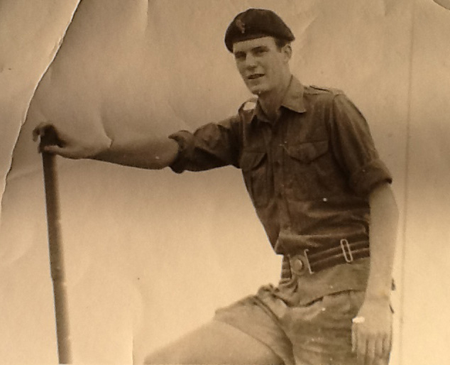 A young military cadet