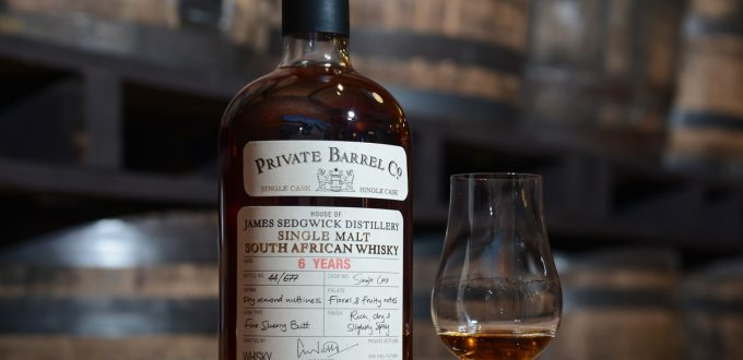 Introducing the new Private Barrel Co JSD 6yo Fino Cask whisky