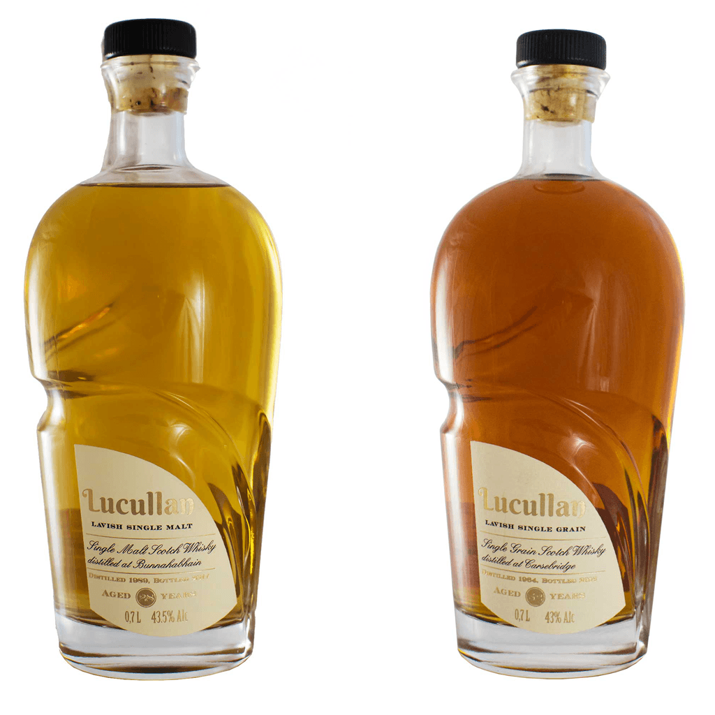 Lucullan Bunnahabhain and Carsebridge whiskies