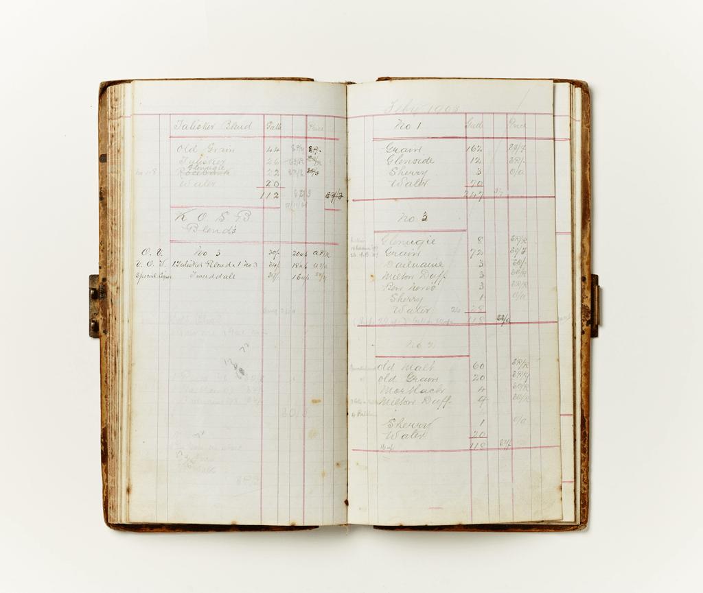 The Tweeddale Cellar Book